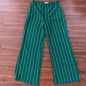 Green pin-stripe HM pants